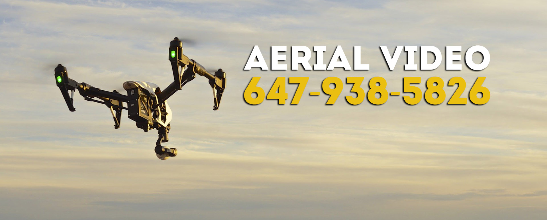 Drone video services Toronto